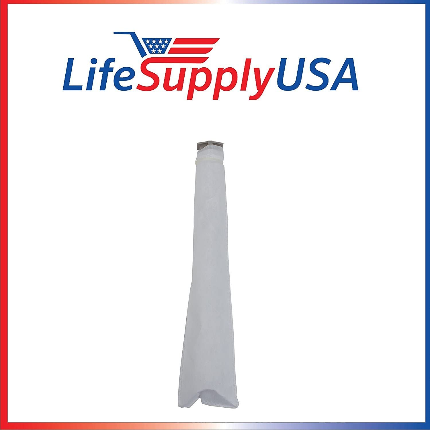LifeSupplyUSA 10 Pack Micro Filter Compatible with Windsor Sensor XP 12 15 18, S 12 15, SEBO X, G Series