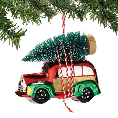 Woody Vehicle Ornament