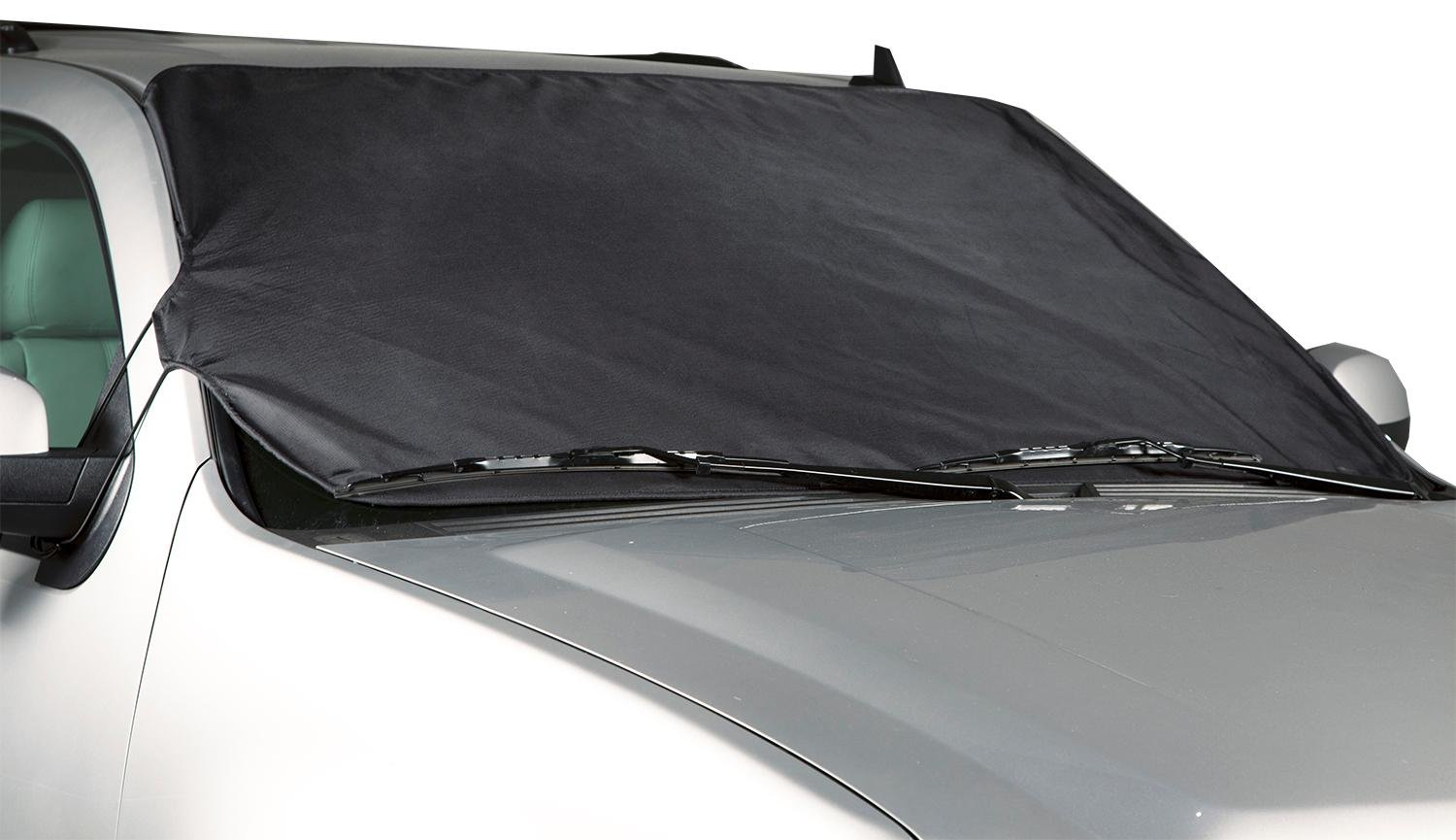 Coverking Custom Windshield Snow Cover/Frost Shield for Select Chrysler Town & Country Models - Ballistic (Black) CFS1E1CR3042