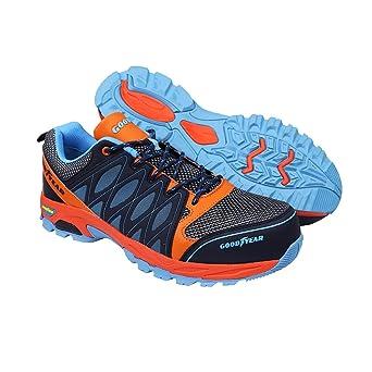Goodyear Workwear GYSHU1583 S1P/SRA/HRO Zapatillas de seguridad para hombre, ligeras, no metálicas, con puntera y entresuela de Composite, 11 UK (45 EU), multicolor, 1: Amazon.es: Industria, empresas y ciencia