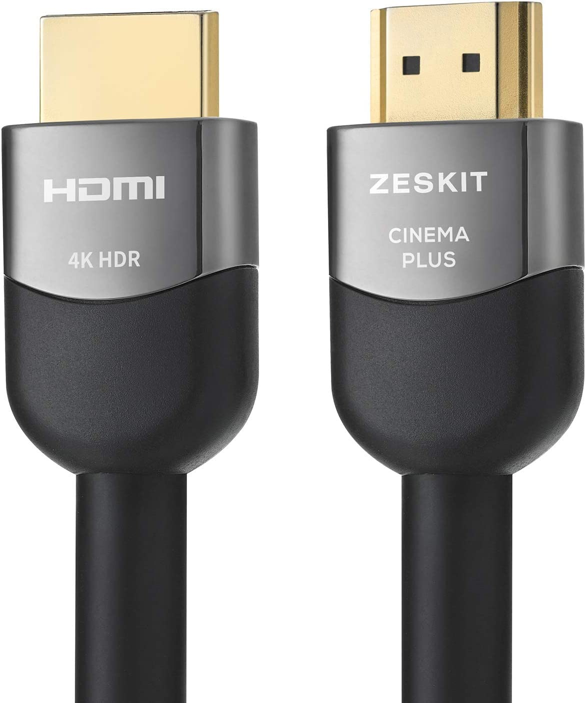 Compatible with Xbox PS4 Pro Apple TV 4K Fire Netflix Samsung LG Sony 4K 60Hz HDR Dolby Vision HDCP 2.2 CL3 in-Wall HDMI 2.0 High Speed 18Gbps Zeskit 16 Feet HDMI Cable