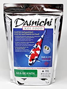 Dainichi Koi Food, All-Season, Small Floating (3.5 mm) Pellet, 5.5 Lb