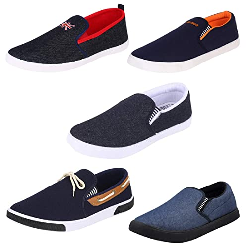 eacaf226e09 Super Premium Quality Combo Pack of 5 Stylish   Designer Loafer   Moccasins Shoes  for Men