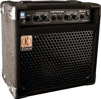 Eden metromix serie multiusos amplificadores usm-em15-u 15 vatios amplificador de guitarra HEAD
