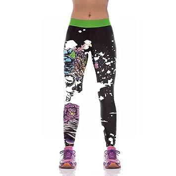 Man&Y Nuevo diseño de Las Mujeres Leggings 3D Impreso ...