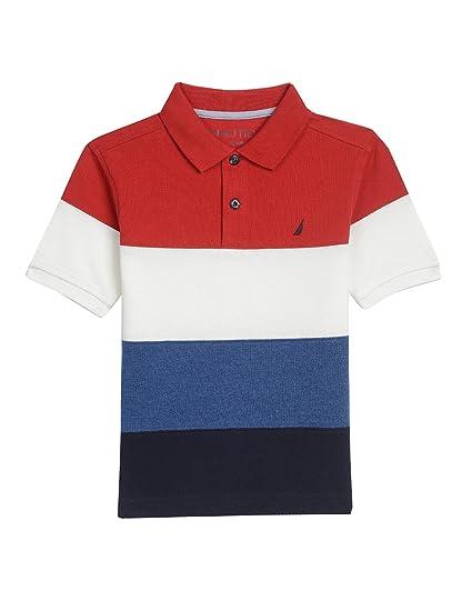 Nautica- Camisa Tipo Polo para Niños  Amazon.com.mx  Ropa bb778ae6c5915