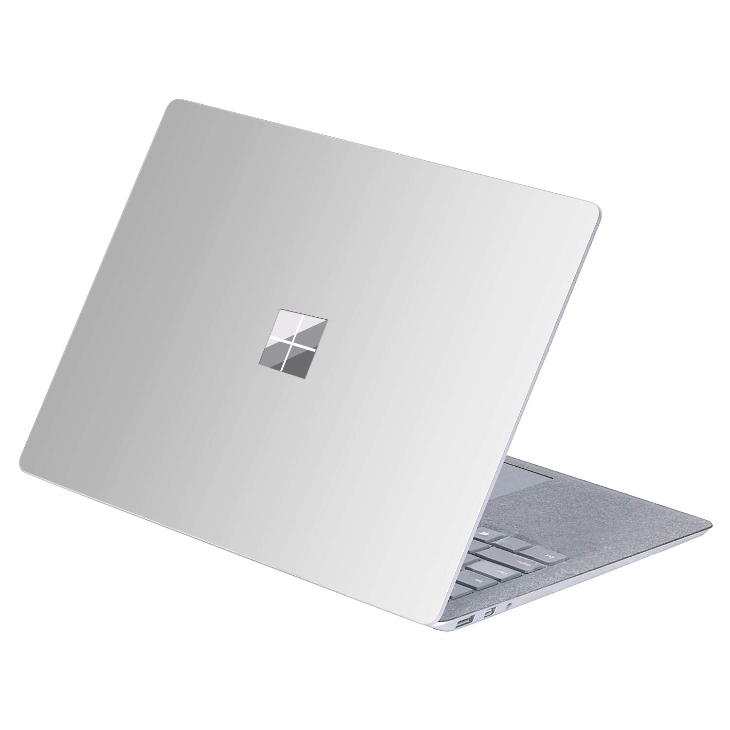保護スキンカバープロテクター For Surface Laptop MASF5008 For Surface Laptop Decal - Silver Color B0771R8CN6