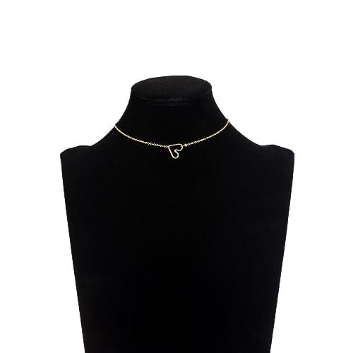 e254045f037f Befettly - Gargantilla y Collar Largo para Mujer