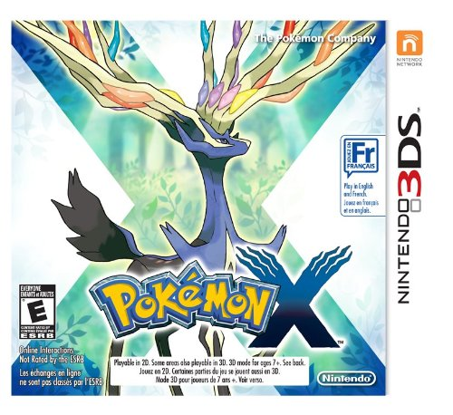 Pokemon X 3DS Playstation 2 product image