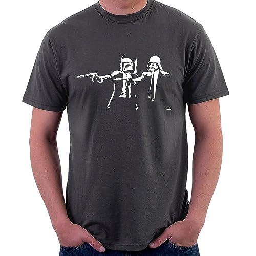 1d635b7b061 Banksy Star Wars Pulp Fiction Men s T-Shirt