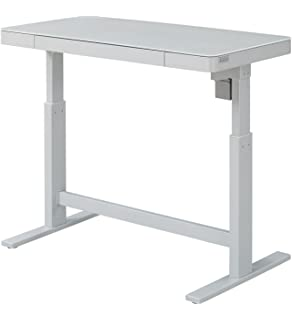 Amazoncom Motorized Standing Desk Electric Sit to Stand