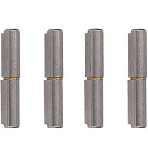 Lift Off Bullet Hinge Weld On Brass Bush 20x180mm Heavy Duty Industrial Quality