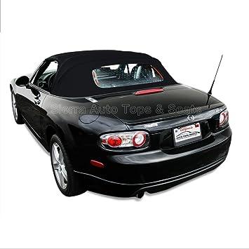 mazda miata convertible top 06 13 in black stayfast wheated glass window amazoncom bmw z3 convertible top