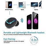 Haisake Wireless Earpiece Bluetooth V4.1 Earbud