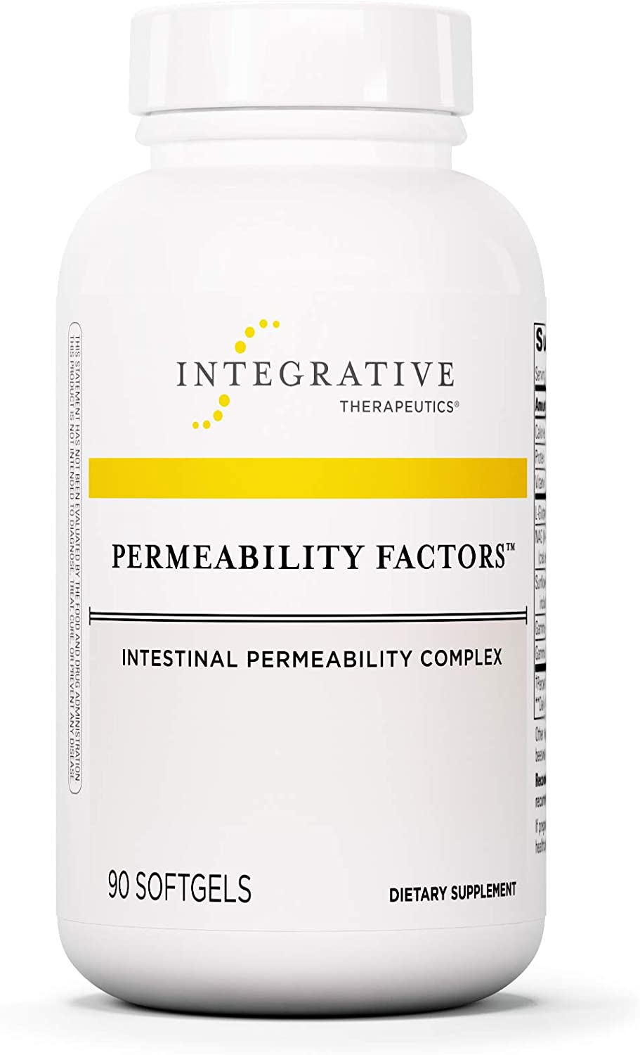 Integrative Therapeutics – Permeability Factors – Intestinal Permeability Complex – 90 Softgels