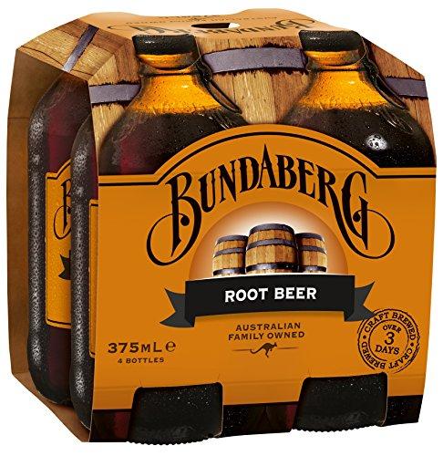BUNDABERG SODA ROOT BEER 4PK 1500ML