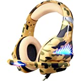 Gaming Headset for PS4, Xbox One, PC, Laptop Cellphone -Stereo Surround Gaming Headphones with Microphone, Noise…