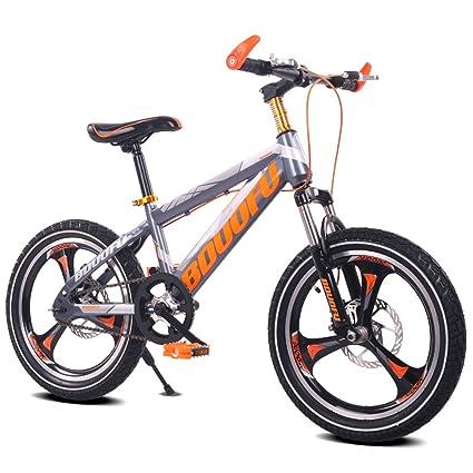 Fenfen Bicicleta para niños 16/18/20 pulgadas Bicicleta de montaña 5 ...