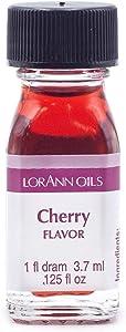 LorAnn Cherry Super Strength Flavor, 1 dram bottle (.0125 fl oz - 3.7ml)