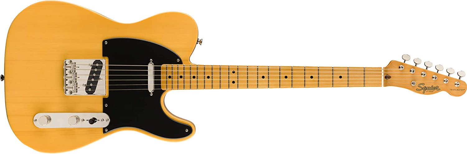 Squier by Fender Classic Vibe 50's Telecaster - Maple Fingerboard - Butterscotch Blonde
