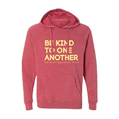 659604582 Image Unavailable. Image not available for. Color: ellen Degeneres Show be  kind hoodie - red