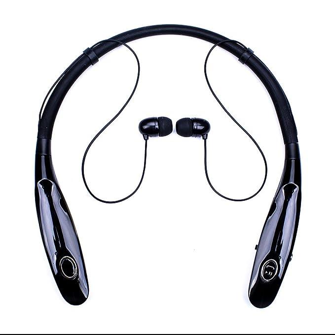 Bluetooth auriculares 14HR tiempo de trabajo, camión conductor magnético inalámbrica Bluetooth auriculares con micrófono, auriculares de contorno de cuello, ...