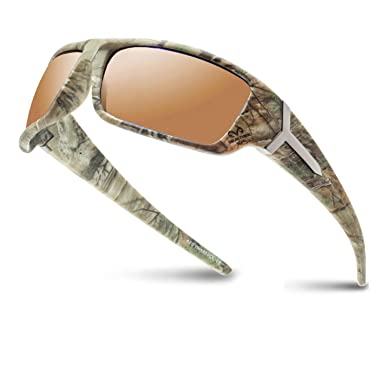 5ebdbbbf10 RealTree Xtra Camouflage Print Hunting Fishing Polarized Driving Sport  Sunglasses (Copper)