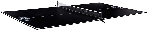 Lancaster Foldable Indoor Table Top Tennis Set w/ Net & Post