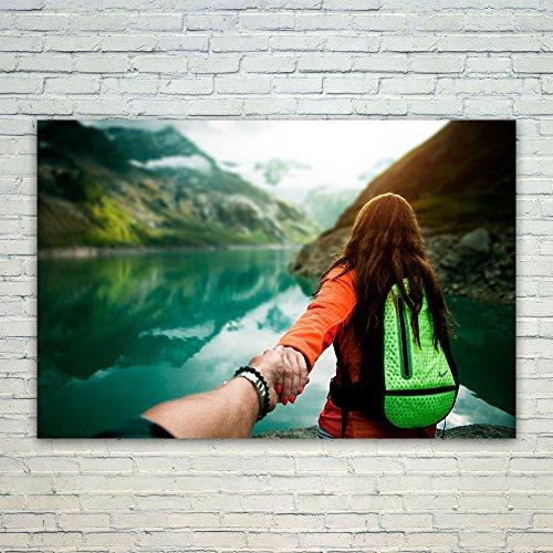 Westlake Art Poster Print Wall Art - Green Water - Modern Pi