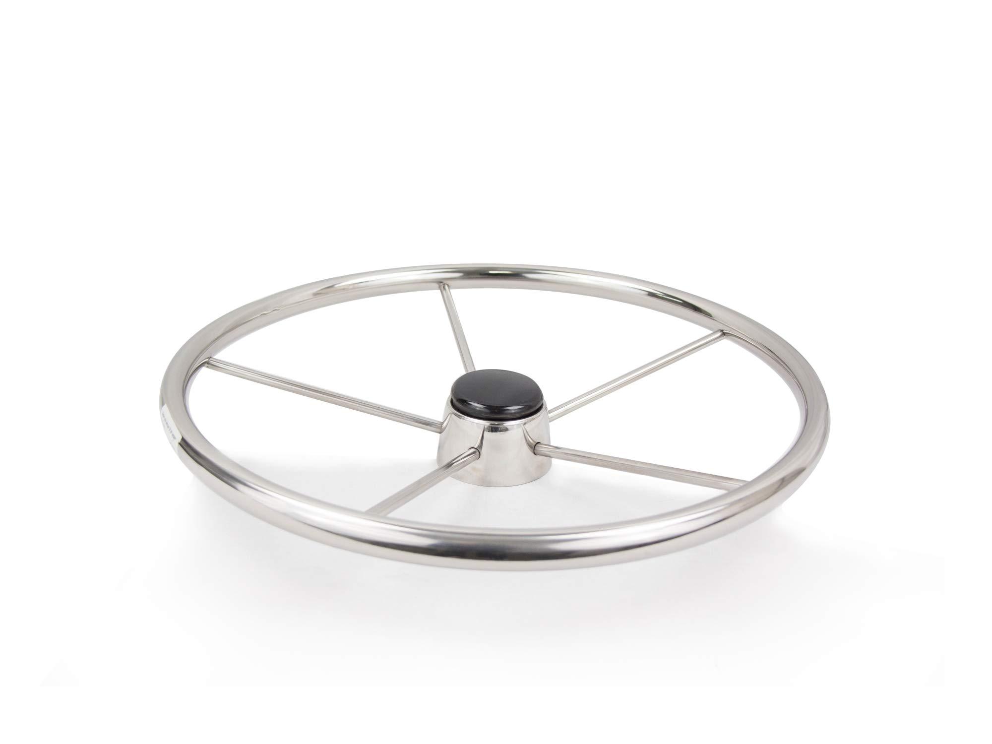 Five Oceans Stainless Steel Destroyer Wheel, 15'' FO-1519 by Five Oceans