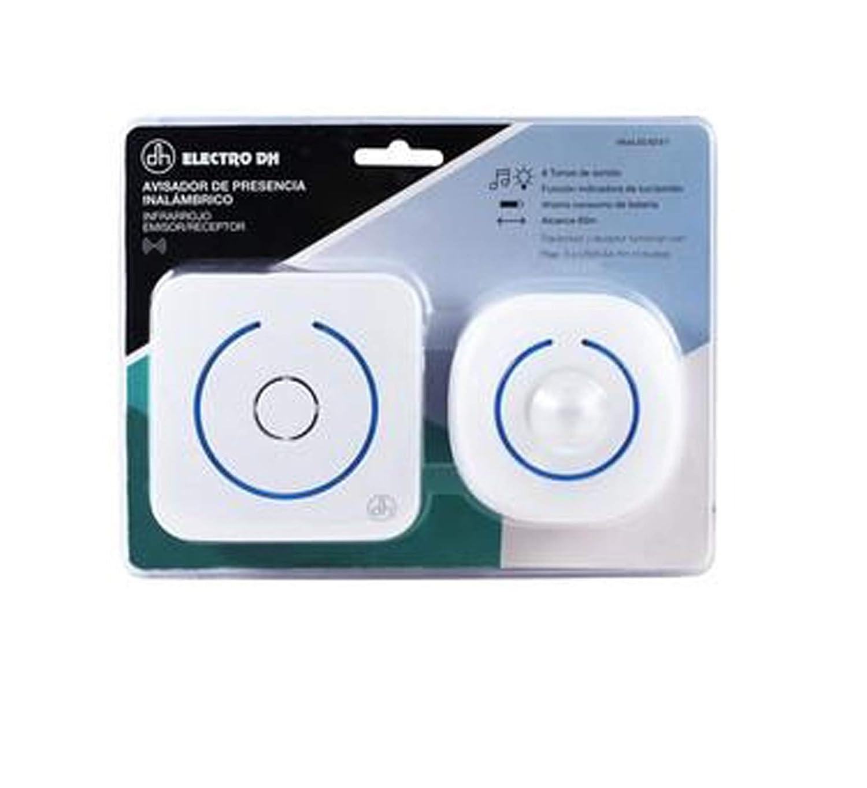 ElectroDH - Avisador de presencia inalambrico infrarrojo emisor/receptor: Amazon.es: Bricolaje y herramientas