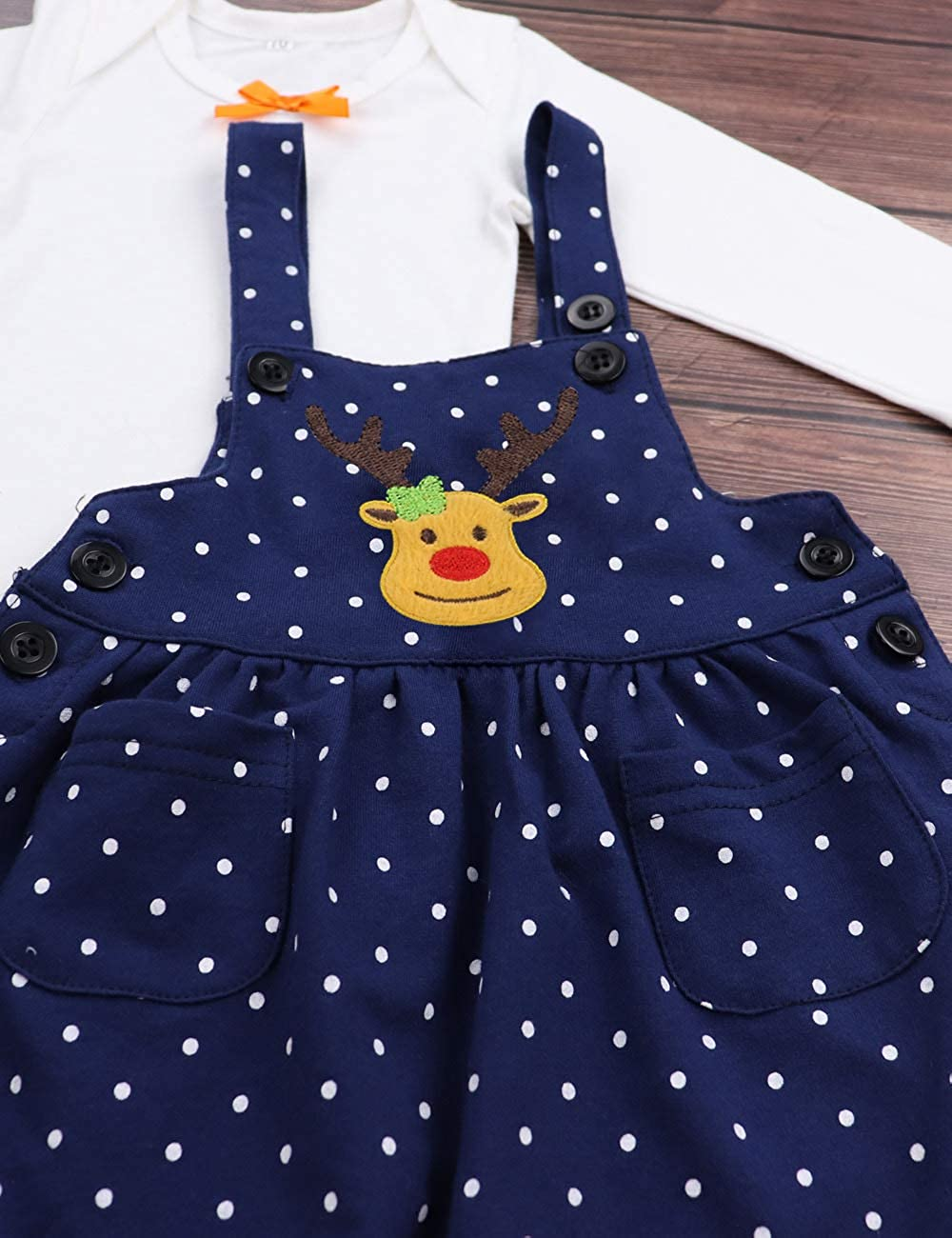 Baby Girl 1st Thanksgiving Outfit My 1st Thanksgiving Romper Skirt 2PCS Clothing Set