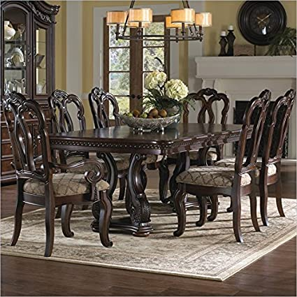 Beau Samuel Lawrence San Marino Dining Table In Dark Brown