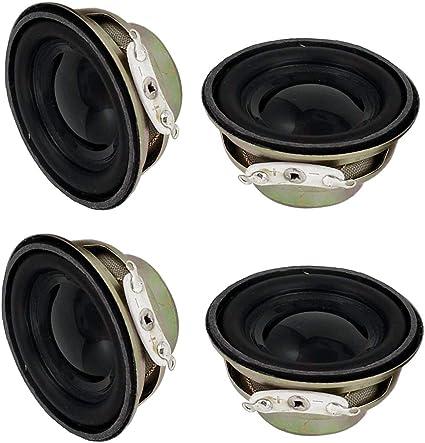 8Ohm 3W Full Range Inner Magnetic Stereo Audio Speaker Loudspeaker 50mm 4Ohm