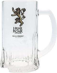 Game of Thrones - Jarra de cerveza de la serie TV de 500 ml - Lannister - Hear Me Roar