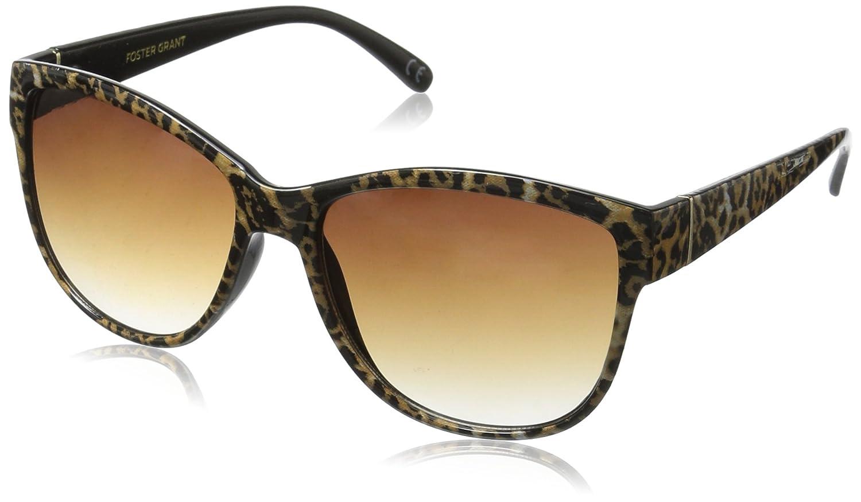 Foster Grant Womens Fate Leo 10225878.COM Round Sunglasses