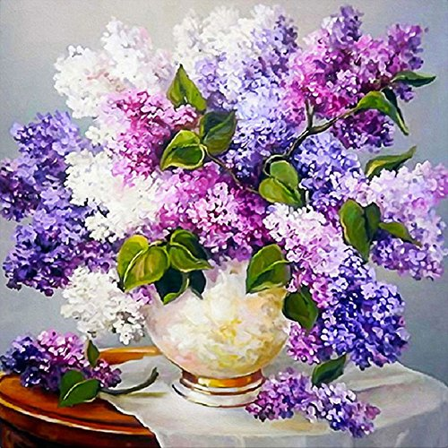 5D Diamond Mosaic Embroidery Lavender Painting Craft DIY Home Decor - 1