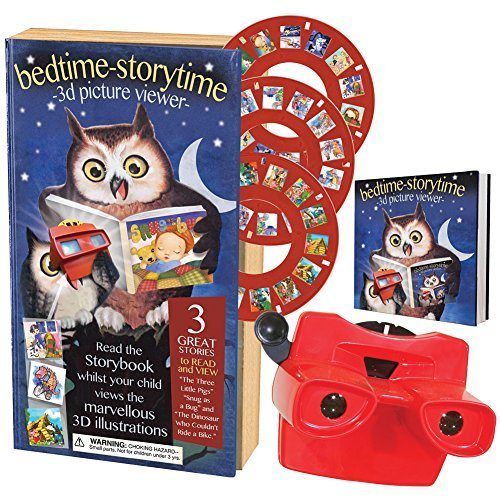 House of Marbles Bedtime Stories With 3 Enchanting Tales And Corresponding 3D Picture Viewer