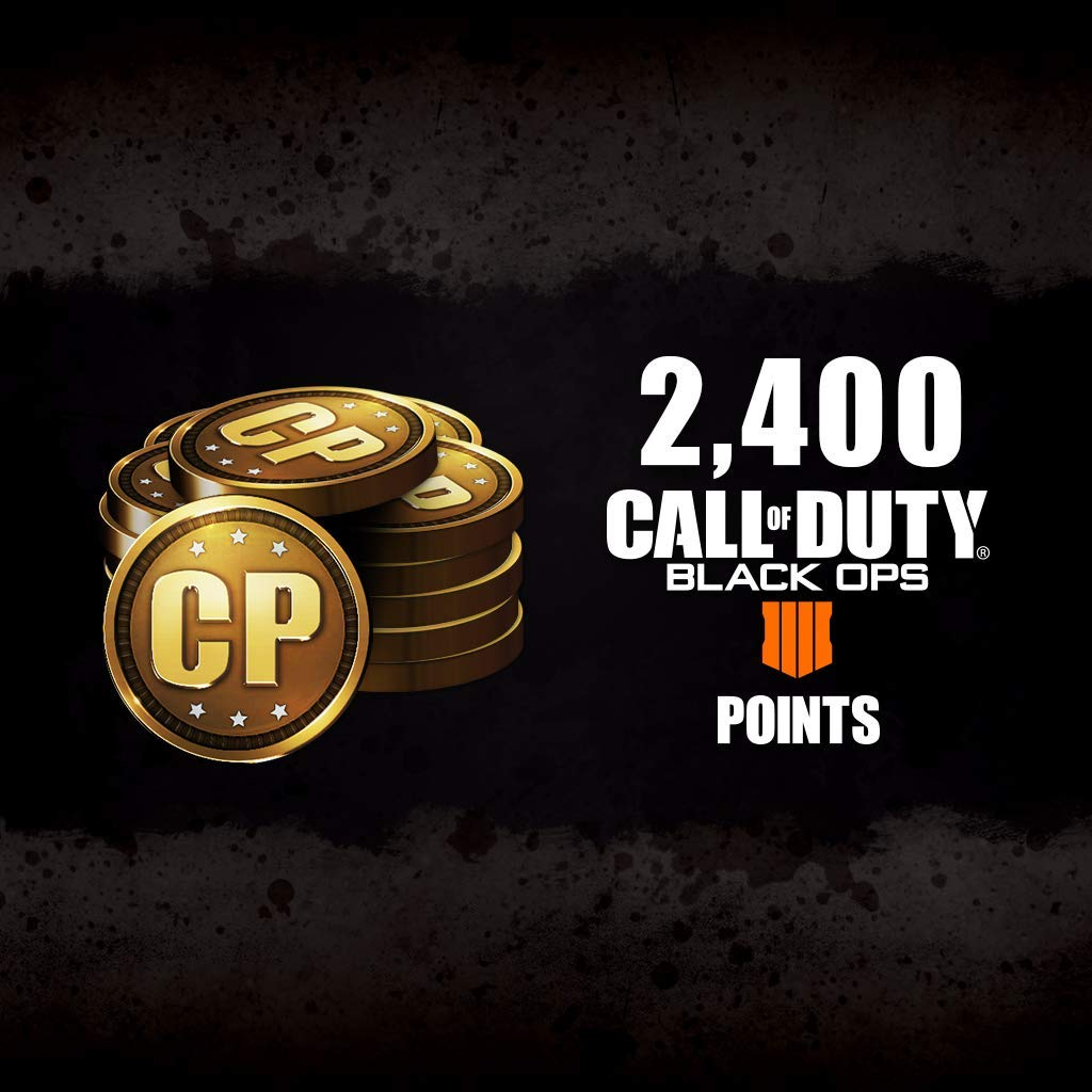 Call Of Duty: Black Ops 4 - Cod Points 2400 - PS4 [Digital Code]