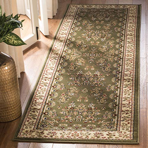 Safavieh Lyndhurst Collection LNH331C Traditional Oriental Sage and Ivory Runner (2'3