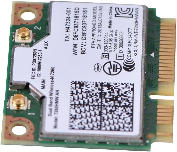 Amazon.com: Mugast Intel 7260HMW Tarjeta WiFi inalámbrica de ...