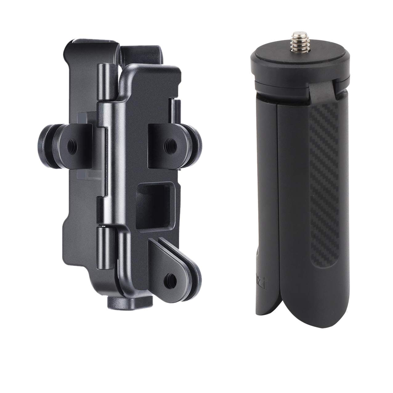 AFVO Accessories Mount Adapter for DJI Osmo Pocket, Also Comes with Mini Tripod Stand by AFVO