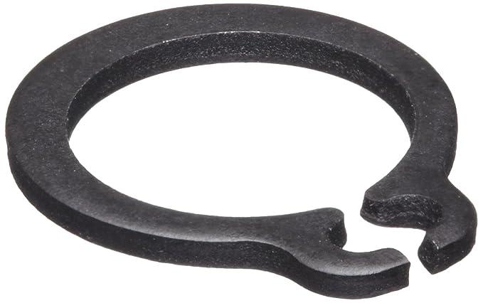 .406 External Retaining Ring Medium Carbon Steel Black Phosphate Pk 2000