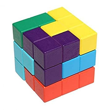 ada005 7 candy color shape natural wood soma cube classic 6x6x6