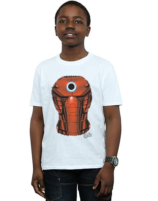 Marvel Niños Iron Man Chest Burst Camiseta  Amazon.es  Ropa y accesorios 5630ce3633c98