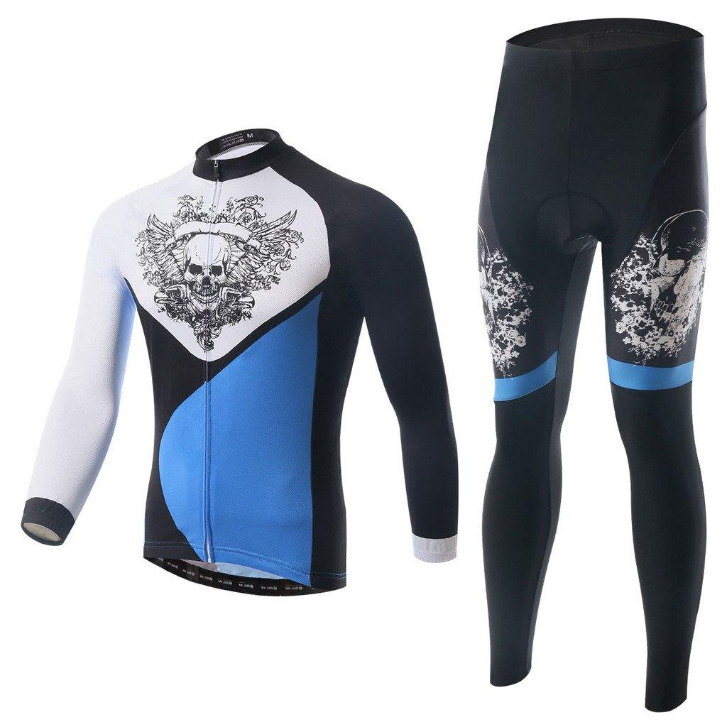 LongSpoz Spoz Men Cycling MTB Fashion Gel Padded Jersey Set