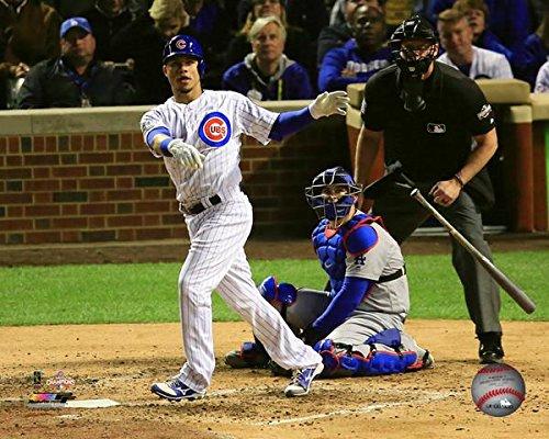 Willson Contreras Chicago Cubs Home Run Game 6 NLCS Action Photo (Size: 8