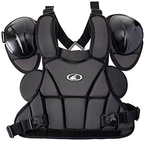 Champro Pro Plus Umpire Chest Protector (Black, Medium)