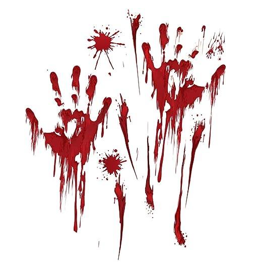 VORCOOL 3 Unids Halloween Tatuajes de Pared Tienda Pegatinas ...