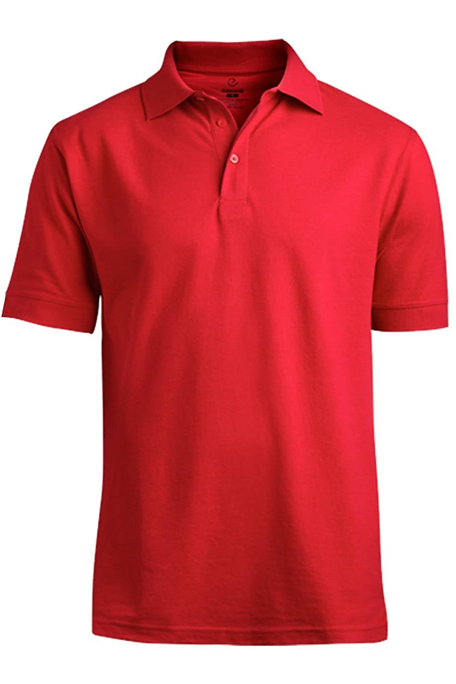 Edwards Garment Mens Big And Tall Soft Pique Polo Shirt/_RED/_XXXXXX-Large Tall